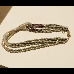RUSH by Denis & Charles multi strand necklace